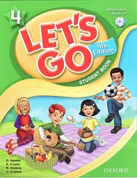 Lets Go #4 (Student book + Workbook) - 4th edition
