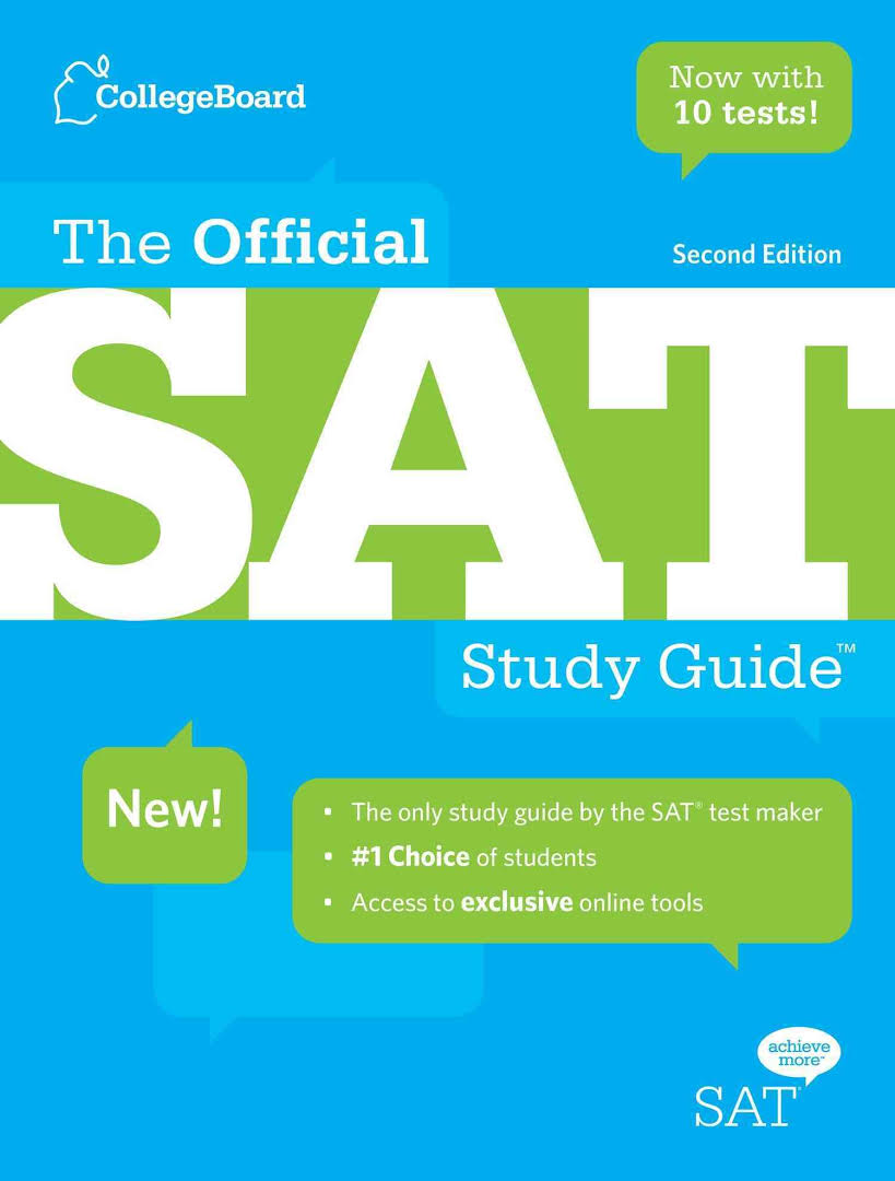 SAT- study guide with DVD