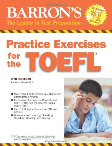 Practice Exercises for the TOEFL with Audio CD