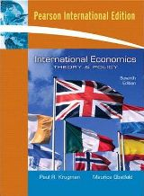 International Economics: Theory and Policy (Seventh Edition)