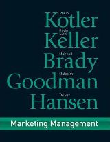 Marketing Management (First European Edition)