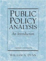 Public Policy Analysis: An Introduction (3rd Edition)