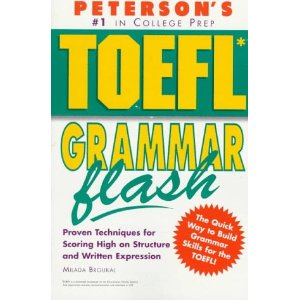 Peterson's Toefl grammar flash