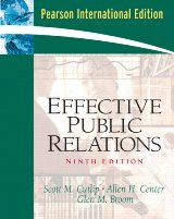 Effective Public Relations (Ninth Edition)