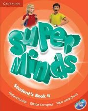 Super Minds - Level 4 (Student's Book + Workbook with CD/DVD-ROM)