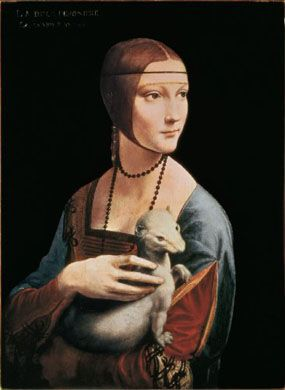 Leonardo - Lady With an Ermine (500  Puzzle)