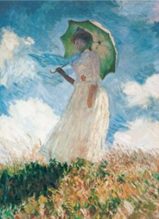 Monet - Woman with Umbrella (1000 Puzzle)