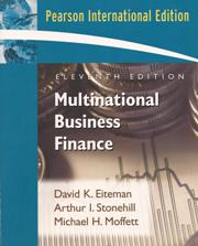 Multinational Business Finance (Eleventh Edition)