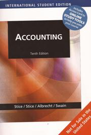 Accounting (Tenth Edition)