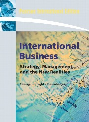 International Business: Strategy, Management and the New Realities