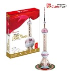 The Oriental Pearl TV Tower (3D Puzzle)