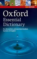 ლექსიკონი -  - Oxford Essential Dictionary (for elementary and pre-intermediate learners of English